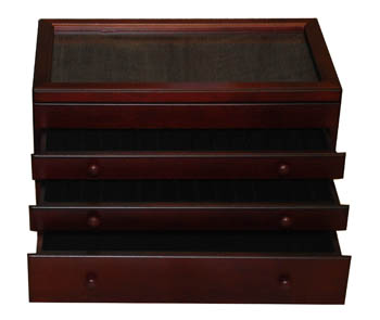 46-Pen Chest- Glass Top