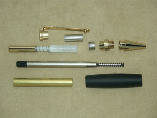Comfort Grip Pen- Upgrade 24k Gold